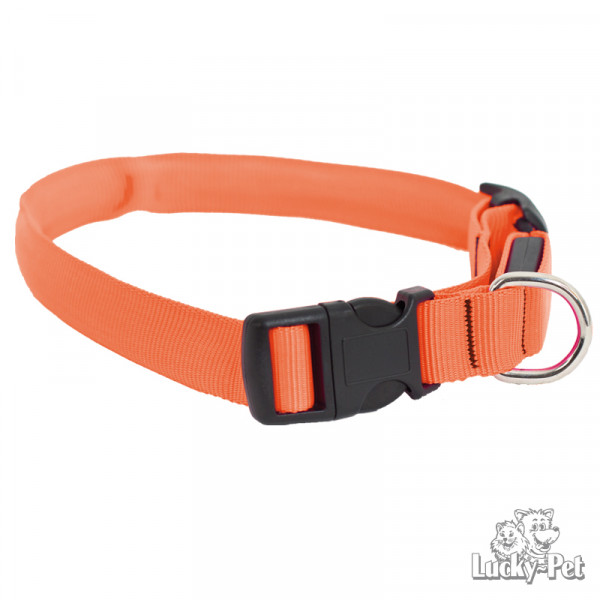 lumidog_halsband_orange